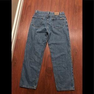Levi's relaxed fit men's denim jeans 36 x 30